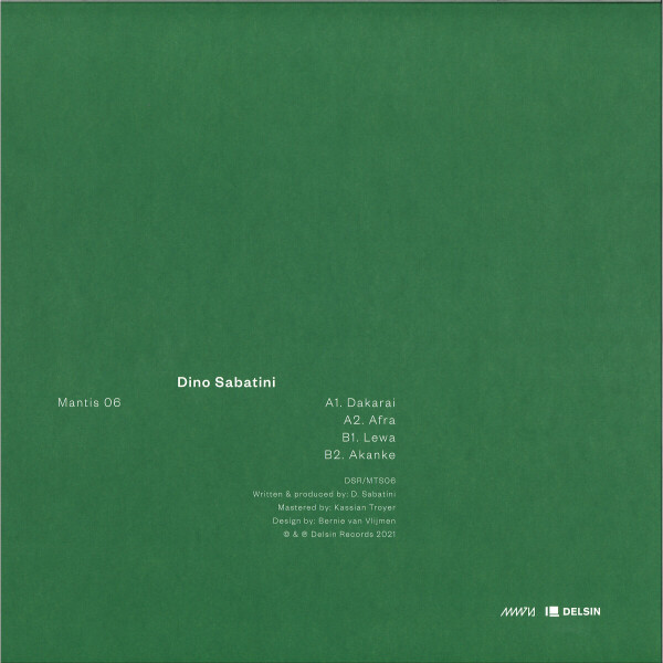 Dino Sabatini - Mantis 06 (Back)