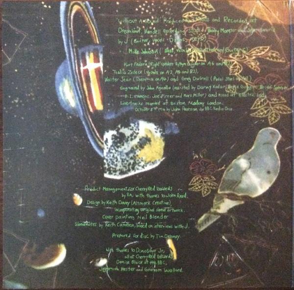 Dinosaur Jr. - Without A Sound (Dlx. Exp. Gatefold Yellow 2LP) (Back)