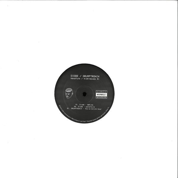 Diode / Grumptronix - Hexafunk / Nightmoves 1 (Back)