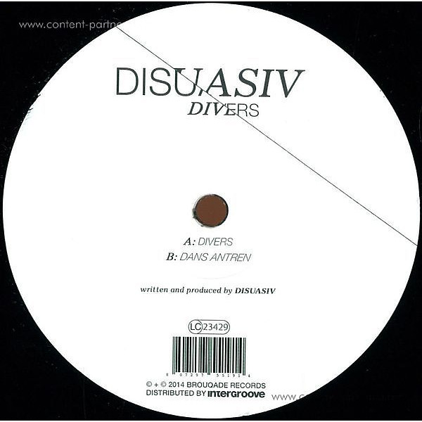 Disuasiv - Divers (Back)