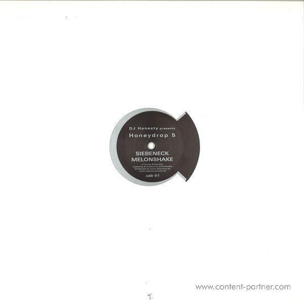 Dj Honesty Presents - Honeydrop 5 (Back)