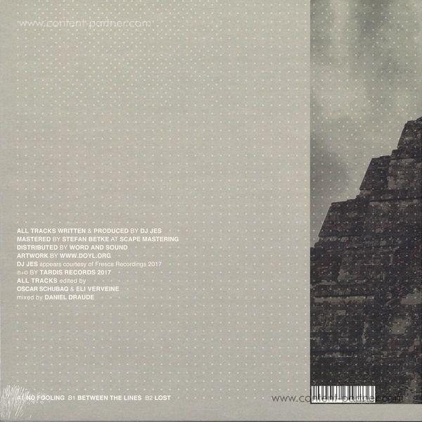 Dj Jes - Between The Lines (Back)