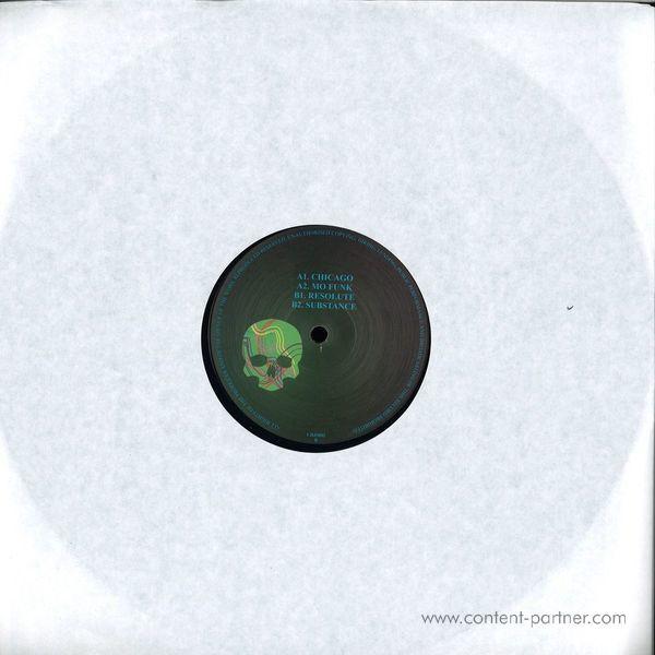 Dj Skull - Mo Funk Ep (Back)