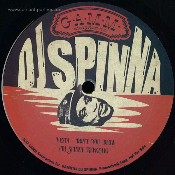 Dj Spinna - E.p. (Back)