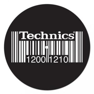 Dmc - Technics 1200 1210 Barcode Slipmat