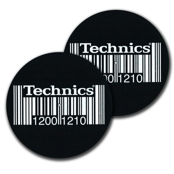 Dmc - Technics 1200 1210 Barcode Slipmat (Back)