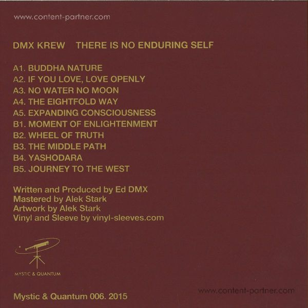 Dmx Krew - There Is No Enduring Self (Back)