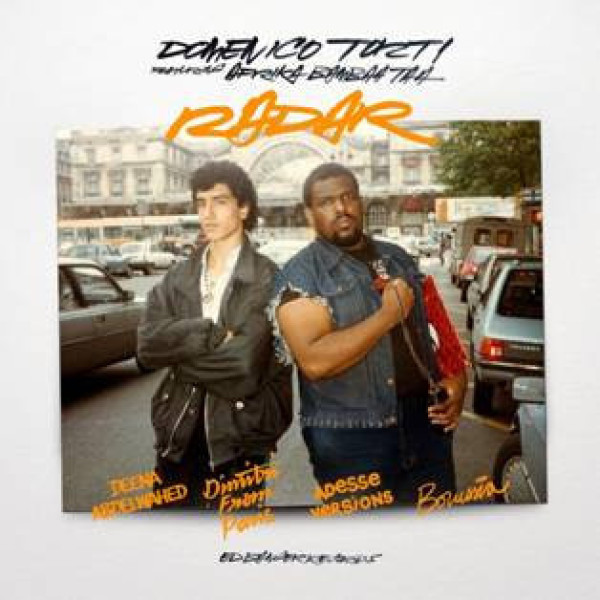 Domenico Torti feat. Afrika Bambaataa - Radar (Ltd. Orange Fluo Vinyl 12