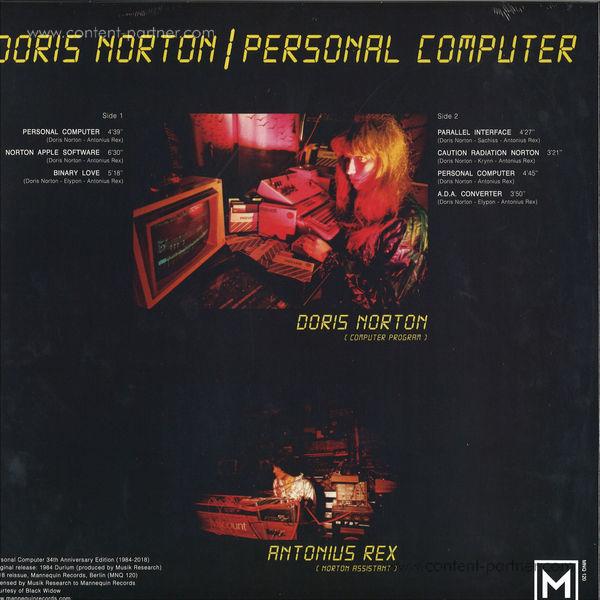 Doris Norton - Personal Computer (Back)