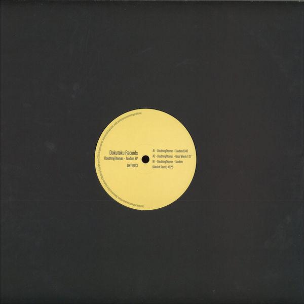 DoubtingThomas - Tandem EP (Back)