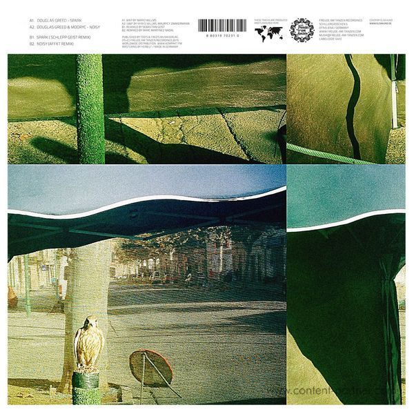 Douglas Greed & Mooryc - Spark / Noisy EP (Back)