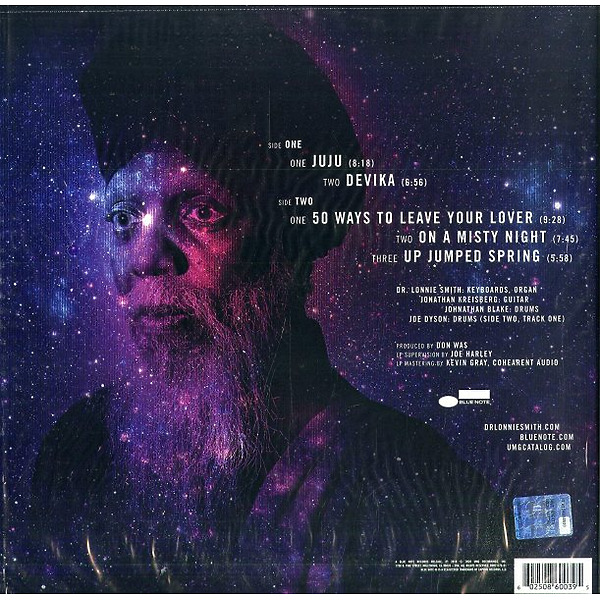 Dr. Lonnie Smith - All In My Mind  (Tone Poet Vinyl) (Back)