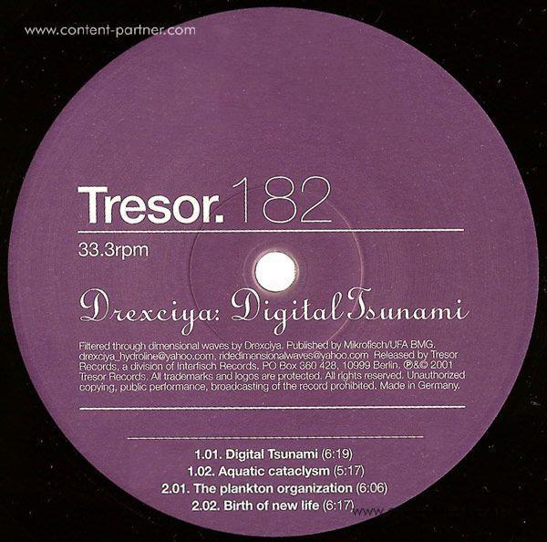 Drexciya - Digital Tsunami (Back)