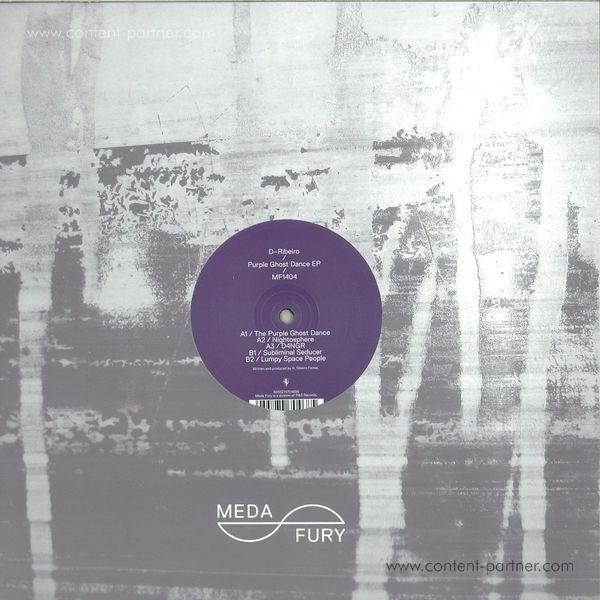 D-ribeiro - Purple Ghost Dance Ep (Back)