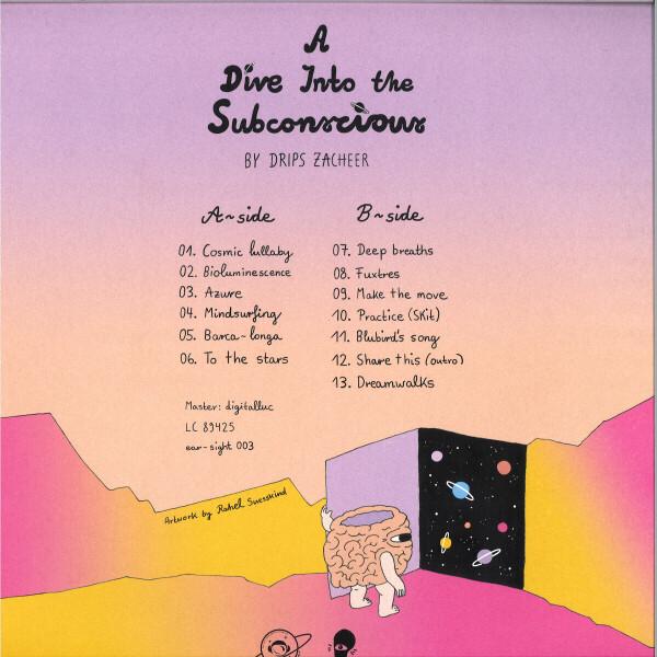 Drips Zacheer - A Dive Into The Subconscious (Back)