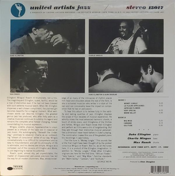Duke Ellington - Money Jungle (Tone Poet Vinyl) (Back)