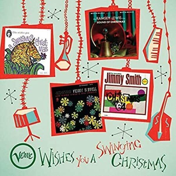 E. Fitzgerald / Jimmy Smith / R. Lewis/ K. Burrell - Verve Wishes You a Swinging Christmas! (4LP Box)