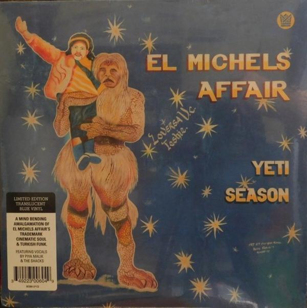 EL MICHELS AFFAIR - YETI SEASON (Ltd. Clear Blue Vinyl)