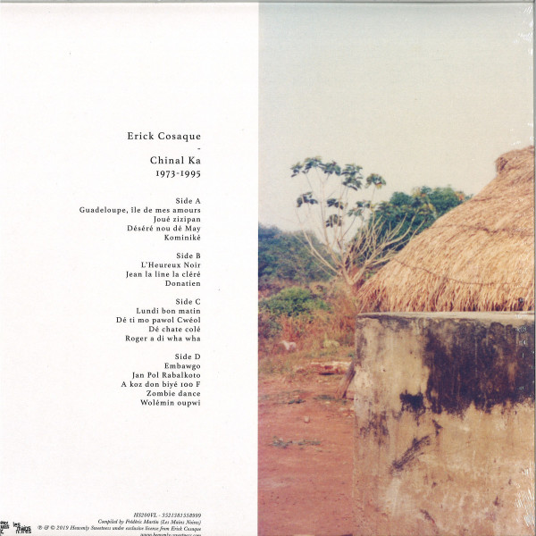 ERICK COSAQUE - CHINAL KA 1973 – 1995 (Back)