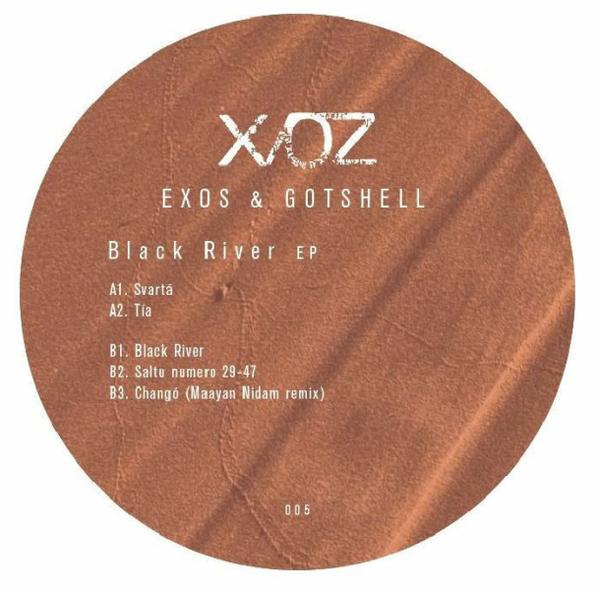 EXOS/ GOTSHELL - Black River (Maya Nidam remix) (Back)