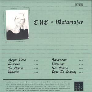 EYE - METAMUJER (Back)