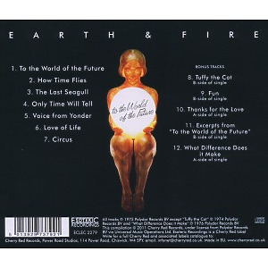 Earth And Fire - To The World (Expanded+Remastered) (Back)