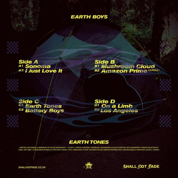Earth Boys - Earth Tones LP (Back)