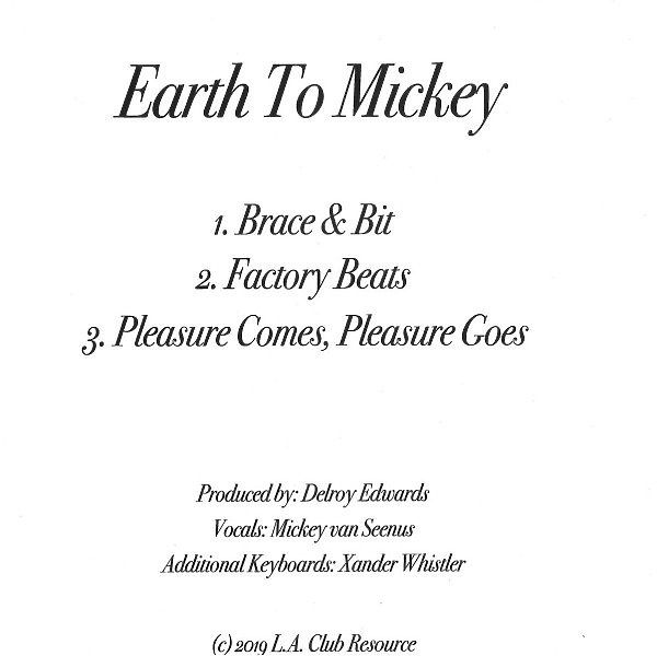 Earth To Mickey - Brace & Biut (Back)