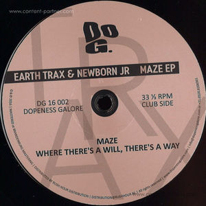 Earth Trax & Newborn Jr. - Maze EP