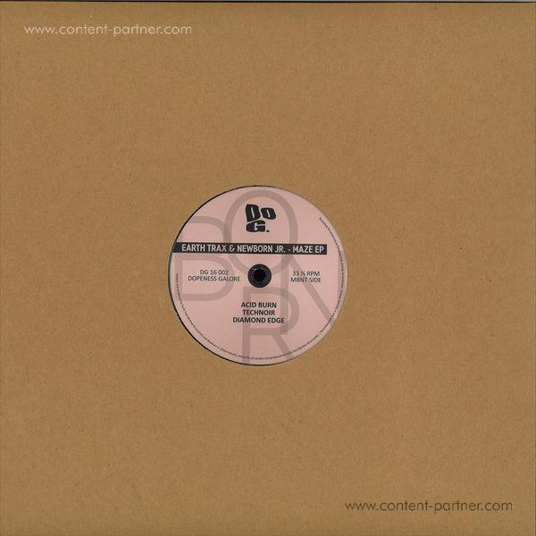 Earth Trax & Newborn Jr. - Maze EP (Back)