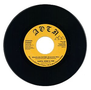 """Earth, Wind & Fire - Brazilian Rhyme / My Love (7"""" Vinyl)"""