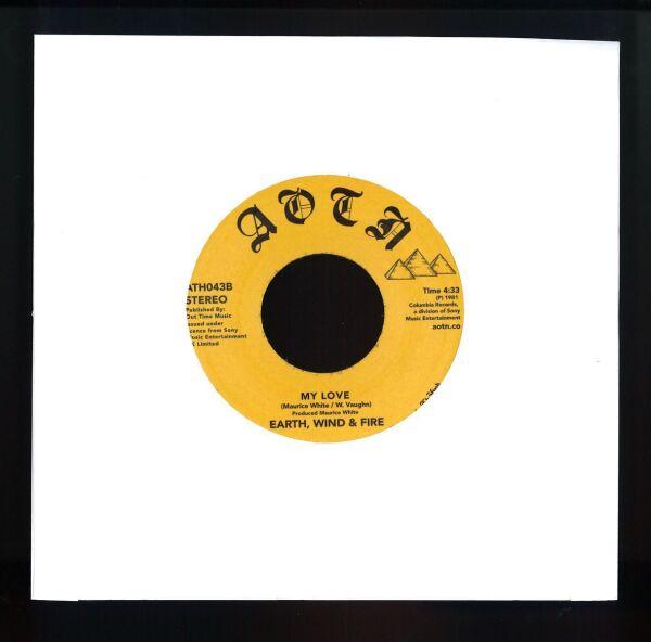 """Earth, Wind & Fire - Brazilian Rhyme / My Love (7"""" Vinyl) (Back)"""