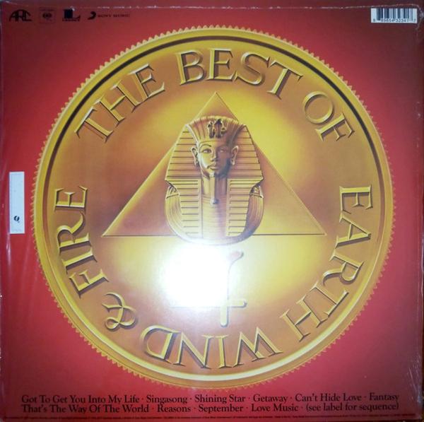 Earth, Wind & Fire - Greatest Hits (140g Reissue) (Back)