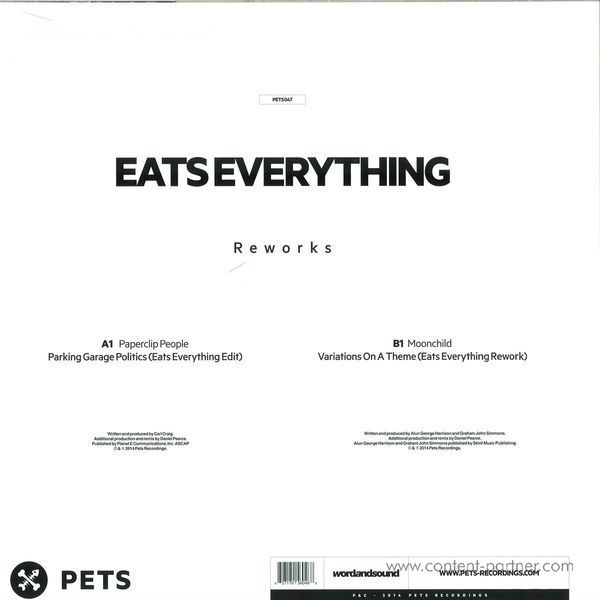 Eats Everything - Rework (Back)