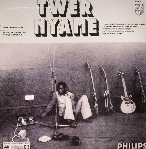 Ebo Taylor - Twer Nyame (Back)