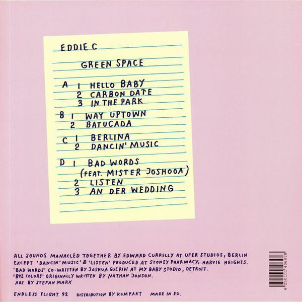 Eddie C - Green Space (Back)