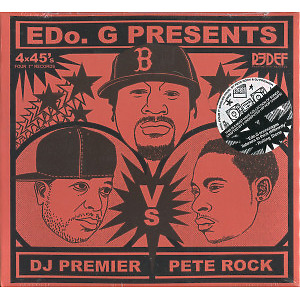 "Edo. G presents - Pete Rock vs. DJ Premier (4x7"" Box)"