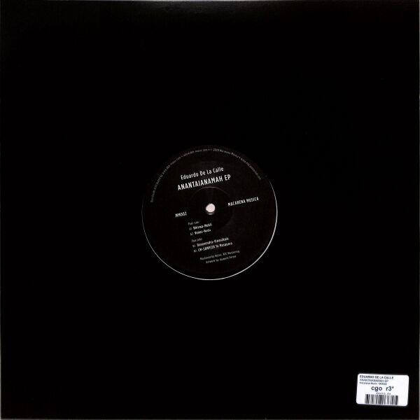 Eduardo De la Calle - Anantaianamah EP (Back)