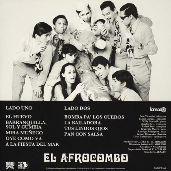El Afrocombo - Pan Con Salsa (180g Reissue) (Back)