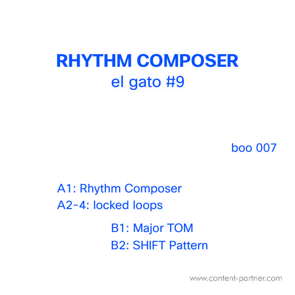 El Gato #9 - Rhythm Composer (Back)