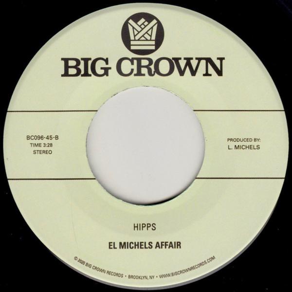 """El Michels Affair feat. Bobby Oroza - Reasons (7"""") (Back)"""