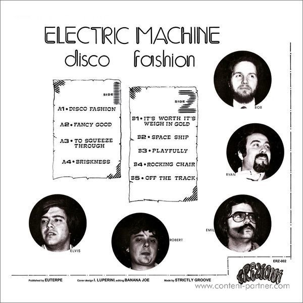 Electric Machine - Disco Fashion (Back)