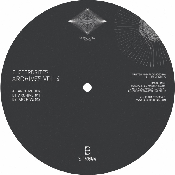 Electrorites - Archives Vol. 4 (Colored Vinyl) (Back)