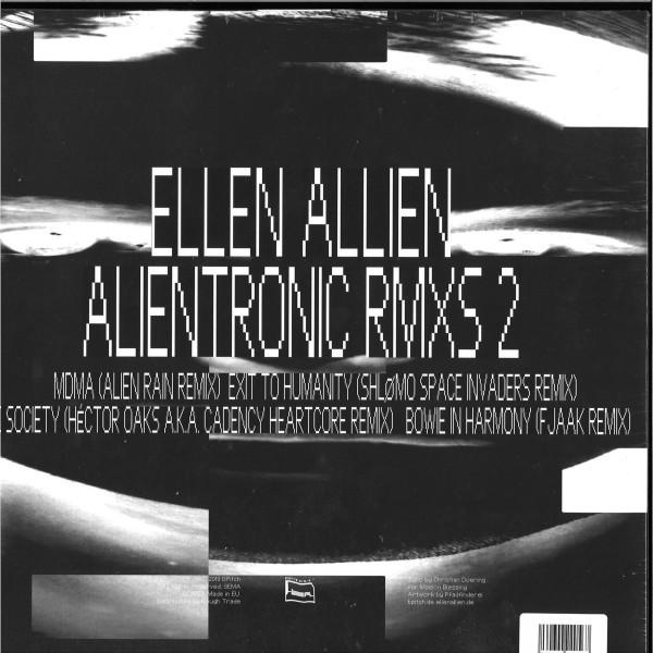 Ellen Allien - Alientronic Rmxs 2 (Back)