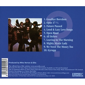 Ellis - Why Not? (Remastered Edition) (Back)