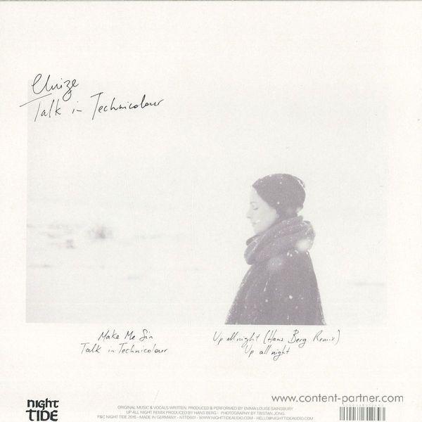 Eluize - Talk In Technicolour Ep /hans Berg Remix (Back)