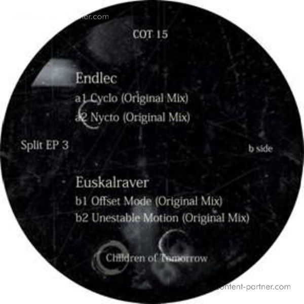 Endlec & Euskalraver - Split EP 3 (Back)