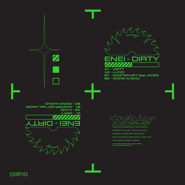 Enei - Dirty EP (Back)