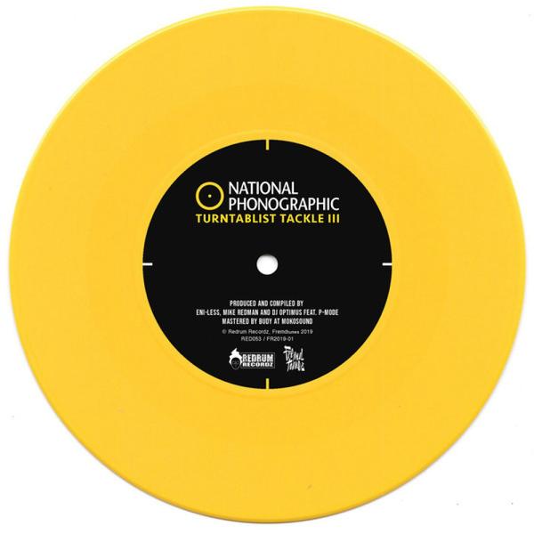 Eni-Less, Mike Redman, Dj Optimus - National Phonographic - Turntablist Tackle 3