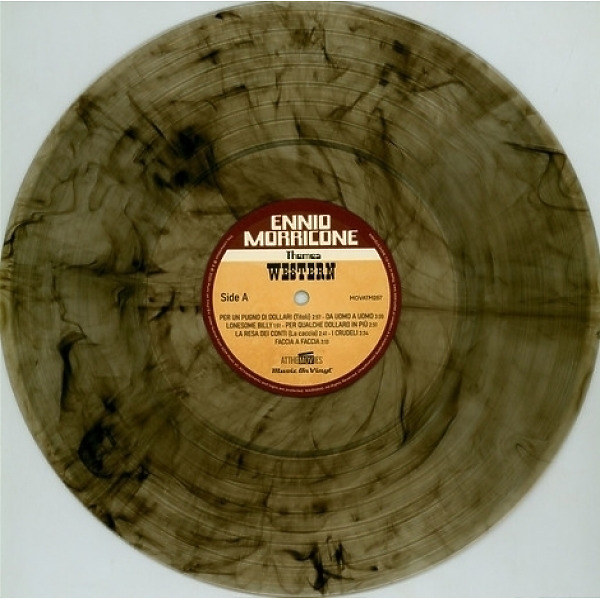 Ennio Morricone - Western Themes (Gun-Smoke Coloured Vinyl 2LP) (Back)